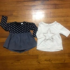 Toddler girls shirt bundle